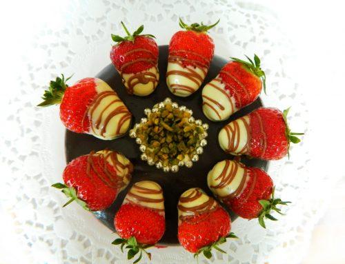Fresas con chocolate receta